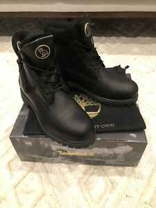 IN HAND SOLD OUT OVO TIMBERLANDS BLACK 9.5