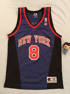Nba jersey champion Latrell Sprewell New York Knicks Jordan