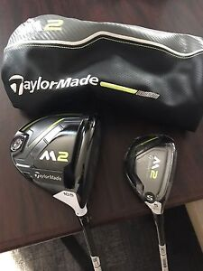 Taylormade M2 Driver and 5 wood ••BRAND NEW•• 2017 models
