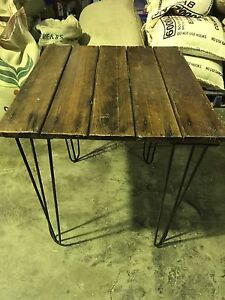 3 x old trestle tables Everton Park Brisbane North West Preview