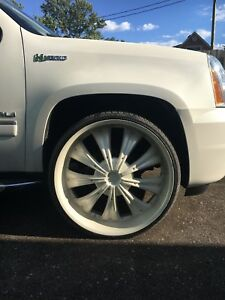 "28"" rocknstarr wheels and rubber"