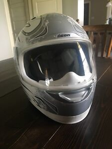 Icon Motorcycle Helmet -size Small