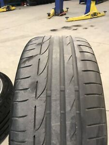 2014 Bmw 4 series mags & tires original mags 2000$