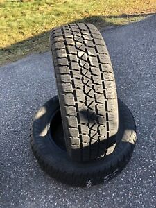 Pair of winter tires. 225/65/R17