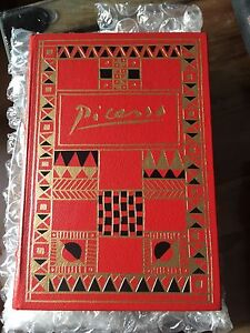 1988 Franklin Library Signed First Edition of Picasso!  Gorgeous