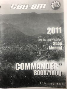 Can am commander manual Free