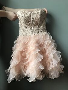 Le Chateau Strapless Grad/Prom Dress For Sale WORN ONCE