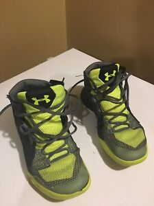 Under Armour basketball sneakers size 6