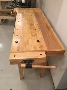 Woodworking / carving bench