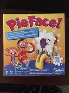 Pie face game • never played • $10