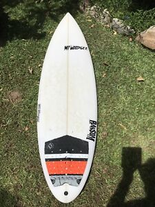 mt woodgee step up 6 3 surfboard vgc