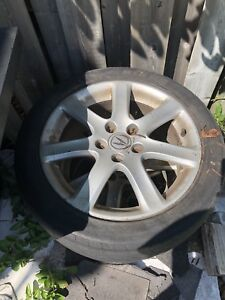 Acura TSX rims and tires