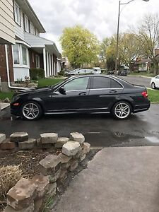 Mercedes c300 2012 AMG package