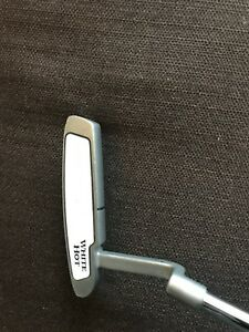 Odyssey White Hot putter with new grip- great condition