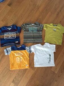 Lot vêtements MEXX et Tommy Hilfiger grandeur 6-9