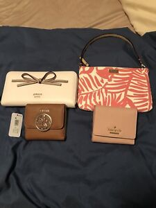 Authentic Guess and katespade wallets