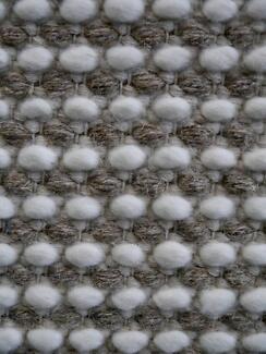 New Bayliss Grampian Sandstone Flatweave Woven Wool Rugs