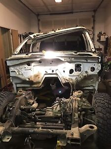 2004 GMC DURAMAX CREW CAB, PARTING OUT