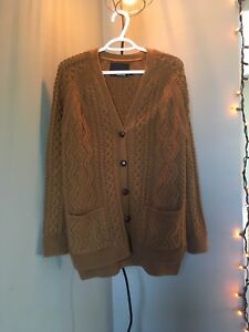 Ladies knit cardigan
