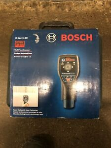 Bosch D-tect 120 Wall and Floor Scanner - Stud and Metal Finder
