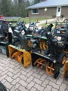 Ready for snow? Used snowblowers