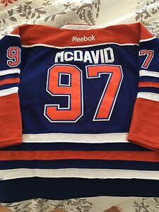 OILERS MCDAVID YOUTH JERSEY