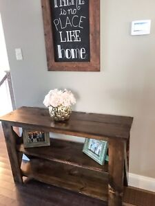 Rustic Furniture and Sofa/Hall Tables