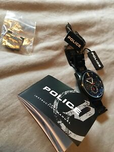 Men's authentic police wathh