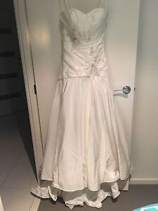 Strapless ivory wedding dress Mount Cotton Redland Area Preview