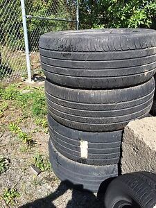 255/55 R19, 4 MICHELIN LATITUDE all season tires