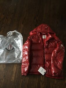 Men's Moncler Jacket Red Maya