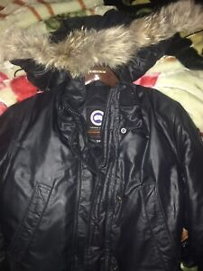 Canada goose jacket size small black authentic