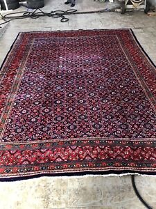 Persian handmade all over floral pattern rug