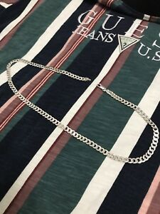 Sterling Silver Cuban Link chain