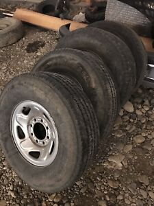 Dodge 2500 rims and tires