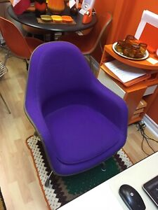Rare Authentic Eames Herman Miller High Back Chair