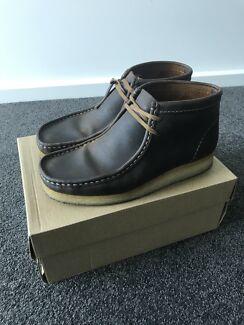 Clarks Original Wallabee boots Beeswax