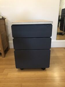 Drawer and File Cabinet Combination