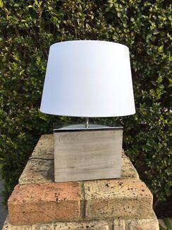 2x Bedside lamps