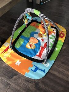 Infantino newborn and toddler activity gym and foam mat