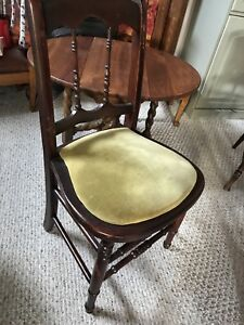 Antique chair could use a new cover