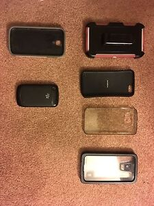 Cases and a blackberry