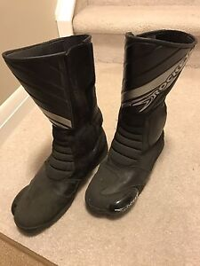 Rocket motorcycle boots size 10