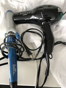 Blow dryer and curling iron