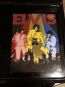 Elvis Tin Art