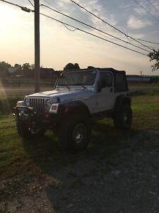 Jeep Tj Rubicon 2004