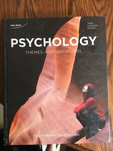 Psychology Themes and Variations 3rd edition