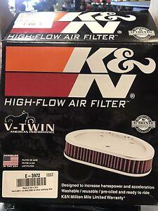 NEW HARLEY DAVIDSON K&N AIR FILTER