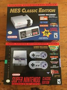 SNES and NES Classic (original)