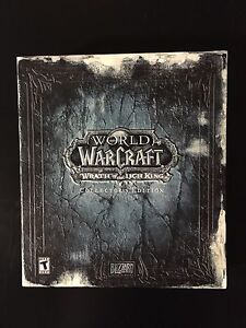 World of Warcraft Wrath of the Lich King Collectors edition
